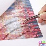 Diamond Painting Olifant 3 luiks 60x20cm_