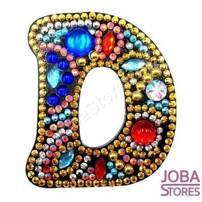 Diamond Painting Sleutelhanger Alfabet Letter D