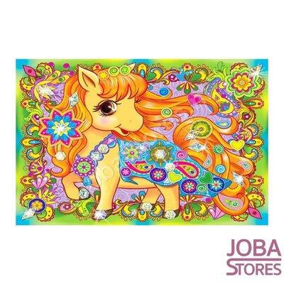 Diamond Painting voor kinderen Paard 33x23cm