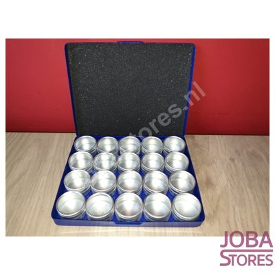 Diamond Painting Aufbewahrungsboxen Aluminium (20 Töpfe)