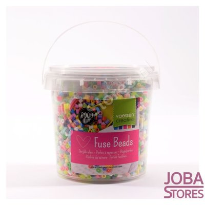Perlen aufbügeln Assorti Bucket Pastel (6000 Stück)