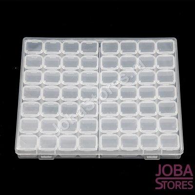 Diamond Painting Sortierbox 56 Steckplätze Weiß