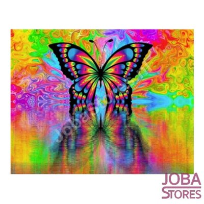 Gemälde nach Nummer Butterfly 40x50cm (Color Canvas)