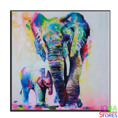 Diamond Painting Olifant 40x40cm