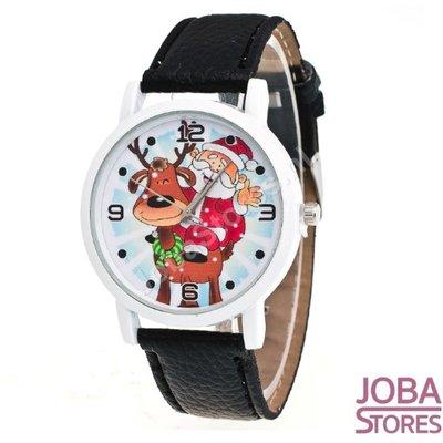 OP=OP Kerst Horloge 01 Zwart