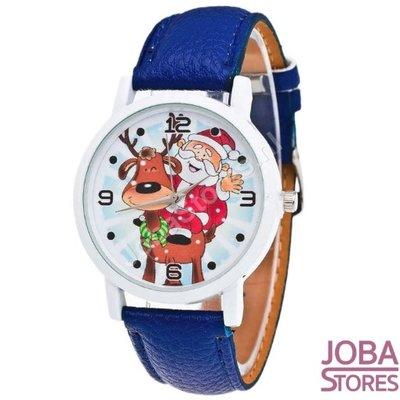 OP=OP Kerst Horloge 01 Blauw
