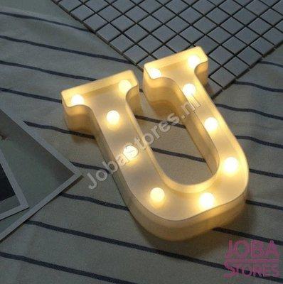 OP=OP Letter Lamp U