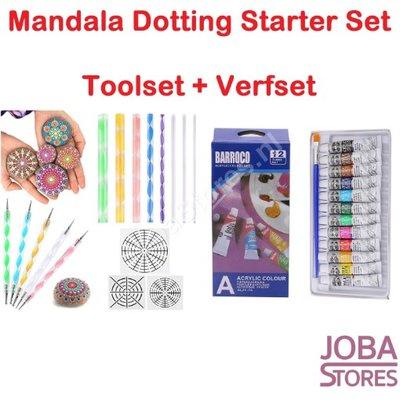 Mandala Dotting Starter Set (28 delig)