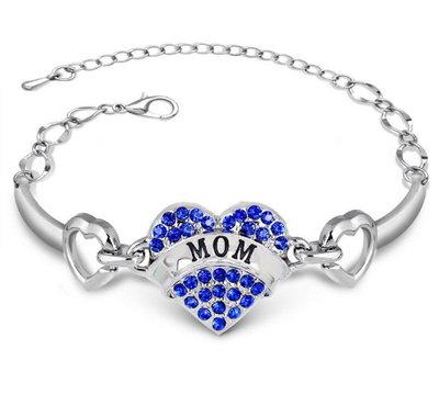 OP=OP Armband Mom Blauw