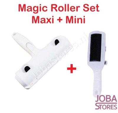 Magic Roller Set (Maxi + Mini) huisdier haar verwijderaar