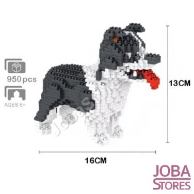 Nanoblocks Border Collie (950 delig)
